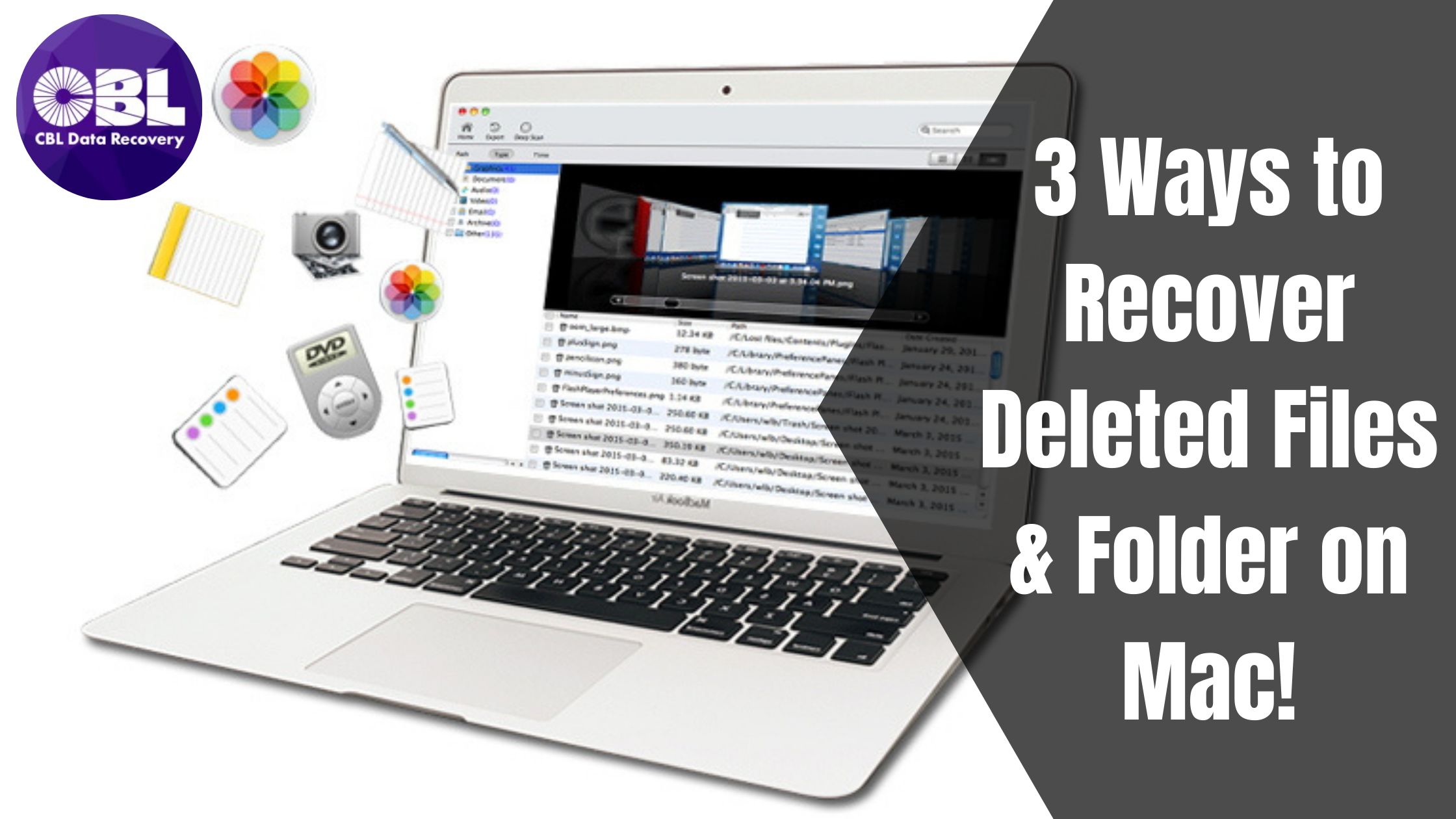 Top 3 Ways to Recover Deleted Files & Folder on Mac