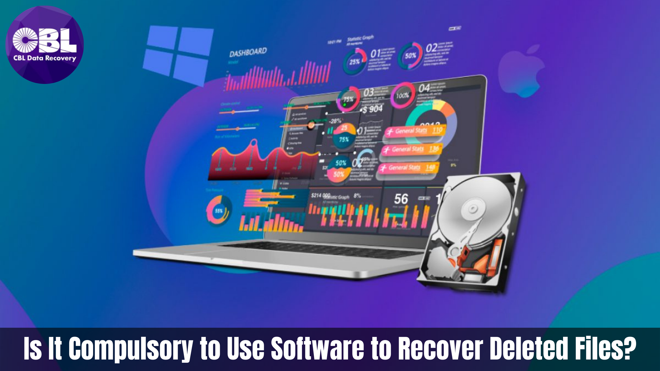 Is It Compulsory to Use Software to Recover Deleted Files?