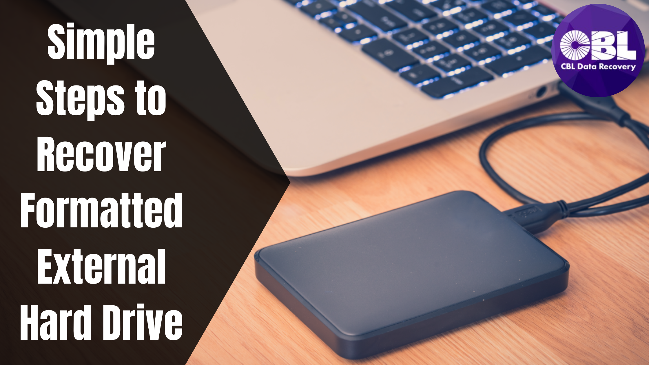 Simple Steps to Recover Formatted External Hard Drive!